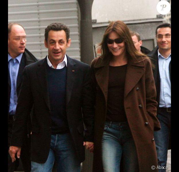 Nicolas Sarkozy et Carla Bruni