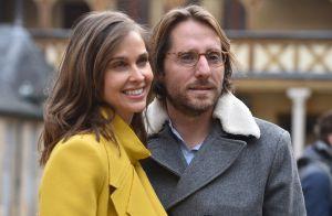 Ophélie Meunier et son mari :