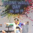 Lady Gaga chante lors de la Gay Pride de New York Le 28 Juin 2019