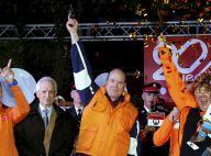 Albert de Monaco armé : cotillons, baskets et veste fluo pour la bonne cause