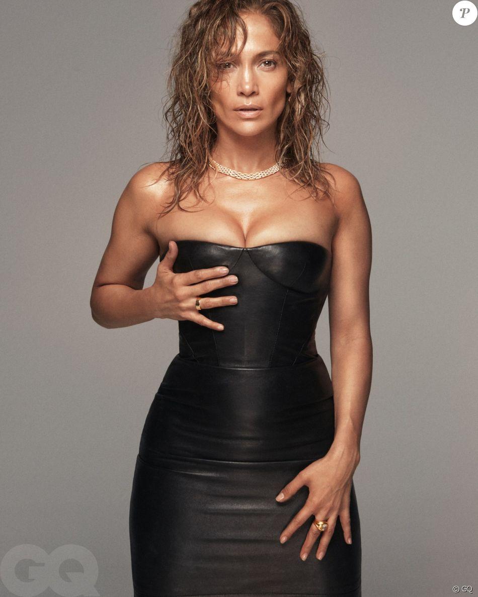 Jennifer Lopez, nommée Icône de l'année par GQ. Photo par Daniel Jackson.