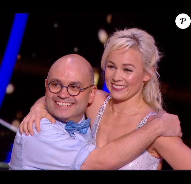 Yoann Riou et Emmanuelle Berne - Danse avec les stars saison 10, le 12 octobre 2019.