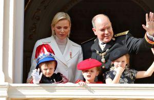 Jacques et Gabriella de Monaco adorables et remuants, ils égayent le palais