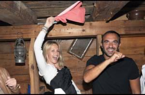Une soirée de folie remplie de VIP pour Johnny et Laeticia Hallyday... dans le cadre magnifique de la Suisse !