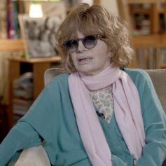 """Nadine Trintignant dans """"Enquête exclusive"""", consacré à Bertrand Cantat et sa fille Marie Trintignant. Le 24 novembre 2019."""