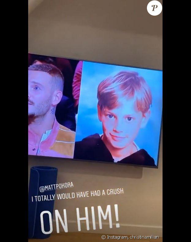 """Christina Milian aurait craqué sur M. Pokora plus jeune. Photo dévoilée dans """"Quotidien"""" (TMC) le 21 novembre 2019."""