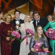 "Jessica Schwarz, Michaela May, Chris Tall, Naomi Watts, Oliver Masucci, Kristina Vogel, Uschi Glas à la soirée des ""Bambi Awards 2019"" à Baden-Baden, le 21 novembre 2019."