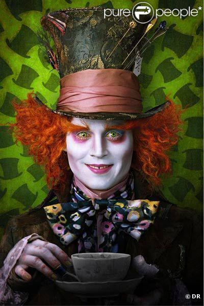 Des images d' Alice on Wonderland , de Tim Burton.