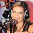 """Exclusif - Clara Morgane - Emission """"Le Show de Luxe"""" sur la Radio Voltage à Paris le 19 décembre 2018."""