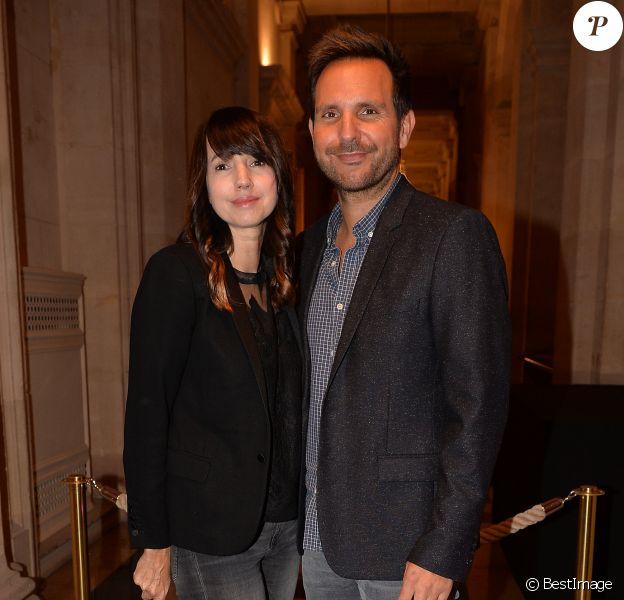 Christophe Michalak et sa femme Delphine McCarty assistent à la soirée de remise du Prix de la femme d'Influence à Paris le 25 novembre 2019. © Veeren/Bestimage