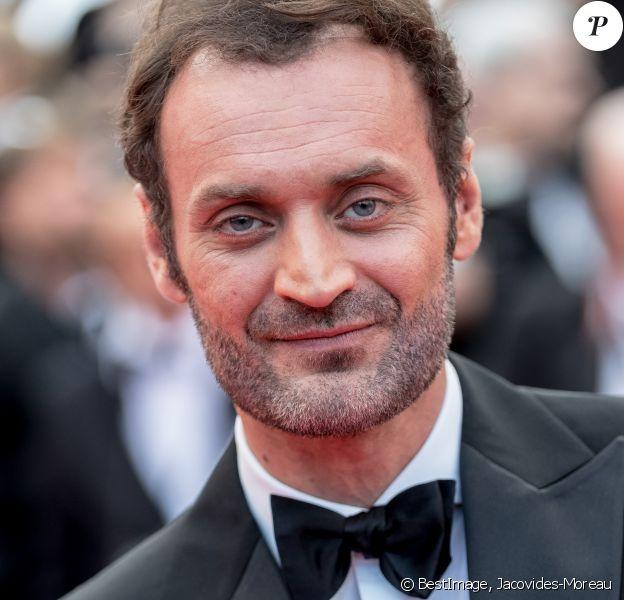 """Augustin Trapenard à la première du film """"Les Misérables"""" lors du 72e Festival International du Film de Cannes, le 15 mai 2019. © Jacovides-Moreau / Bestimage"""