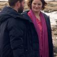 """Christopher et Aude - """"L'amour est dans le pré 2018"""", sur M6. Le 22 octobre 2018."""