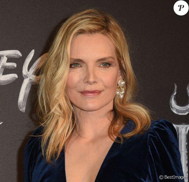 """Michelle Pfeiffer - Première de """"Maléfique : Le pouvoir du Mal"""" à Rome, le 7 octobre 2019."""