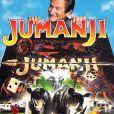 "Affiche du film ""Jumanji"", de Joe Johnston, sortie en France le 14 février 1996."