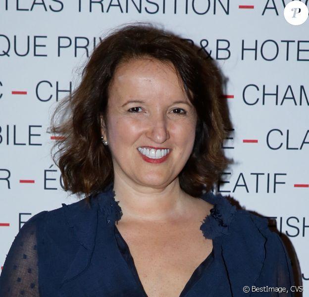 Anne Roumanoff - Soirée du Chinese Business Club à l'hôtel InterContinental Opéra à Paris le 9 avril 2019. © CVS /Bestimage