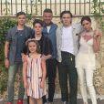 David, Victoria Beckham et leurs fils Brooklyn, Romeo et Cruz ont souhaité un joyeux anniversaire à Harper (8 ans).