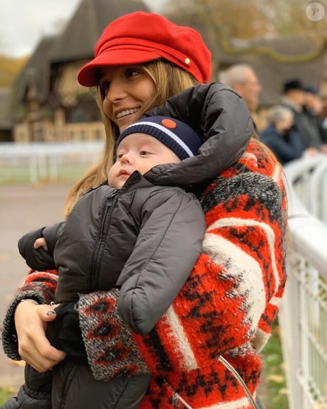 """Clara Bermudes de """"Secret Story"""" avec son fils Andréa sur Instagram, le 26 novembre 2019"""