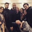 """Tony Mazari avec des acteurs des """"Mystères de l'amour"""" - Instagram, 29 mars 2019"""