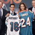 Jennifer Lopez et son mari Marc Anthony
