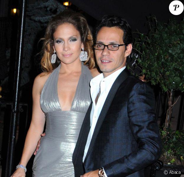 Jennifer Lopez et son mari le soir de l'anniversaire surprise du 24 juillet !