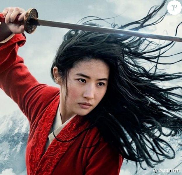 """Yifei Liu, héroïne du film """"Mulan"""". Photo diffusée par Disney le 5 décembre 2019."""