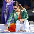 Kendall Jenner prend du bon temps sur le yacht de D.Grutamn, à l'occasion d'Art Basel, à Miami, le 6 décembre 2019. 06/12/2019 - Miami