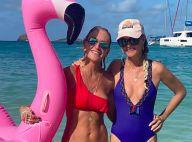 Laeticia et Jade Hallyday : Le bonheur en maillots de bain, avec des amies