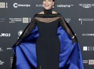Juliette Binoche : Sublime en robe à cape, honorée à Berlin