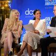 Dakota Fanning, Susan Kelechi Watson and Tim Allen - 77ème nomination annuelle aux Golden Globe au Beverly Hilton, Beverly Hills, Los Angeles, 8 décembre 2019.