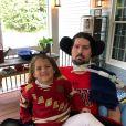 Photo publiée sur le compte Instagram de Pete Frates