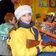 Priscilla au Children's World de Paris, place de la Bastille. Le 18 décembre 2002. © Christophe Morin/Alamo/ABACA.