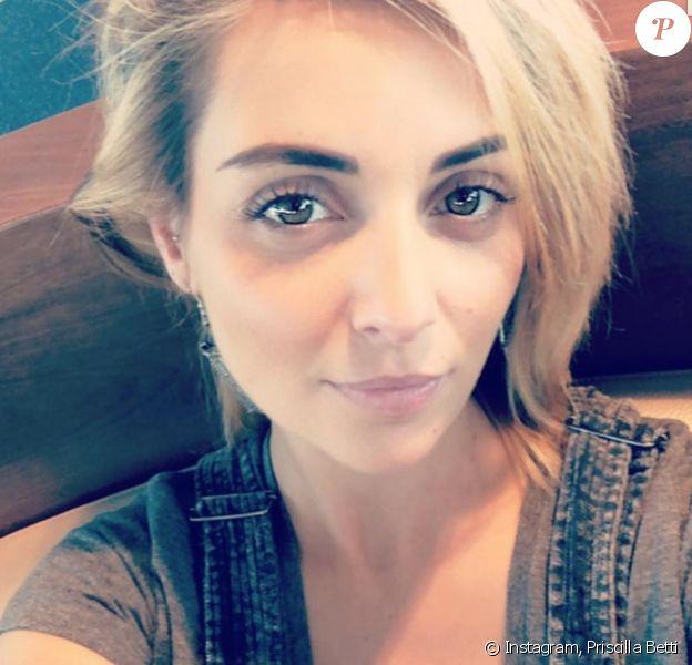 Priscilla Betti sur Instagram. Le 22 septembre 2019.
