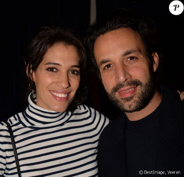 Laurie Cholewa et son mari Greg Levy - Lancement de l'Instax Mini Link de Fujifilm à Paris, le 10 décembre 2019. L'Instax Mini Link est la nouvelle imprimante connectée de Fujifilm. © Veeren/Bestimage