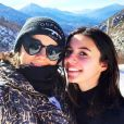 Alizée et sa fille Annily sur Instagram. Le 26 janvier 2019 en Corse.