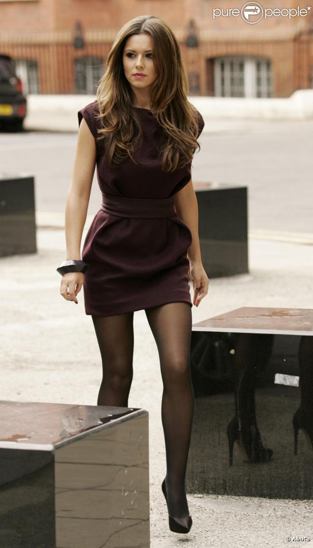 Cheryl Cole arrivant pour la seconde étape des auditions de X Factor dans le théâtre Hammersmith Apollo à Londres le 27 juillet 2009