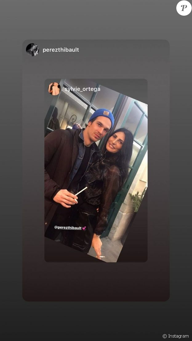 Sylvie Ortega Munos et son nouveau petit-ami le 12 décembre 2019 à Paris.