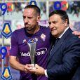 Frank Ribery lors du match du championnat d'Italie de football Serie A, opposant l'ACF Fiorentina à l'Udinese Calcio au stade Artemio Franchi à Florence, Italie, le 6 octobre 2019. © Inside/Panoramic/Bestimage