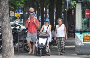 Naomi Watts, Liev Schreiber et leurs enfants : amoureux de Paris !