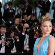 """Florence Pugh - Montée des marches du film """"La belle époque"""" lors du 72ème Festival International du Film de Cannes. Le 20 mai 2019 © Borde / Bestimage"""