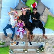 Jamel Debbouze et Mélissa Theuriau : Voeux avec les enfants et une danse de Lila