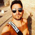 """Romain de """"Mariés au premier au premier regard 2020"""" torse nu sur Instagram, le 2 juillet 2019"""