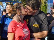 Laura Tenoudji et Christian Estrosi : baiser fougueux après un dimanche sportif
