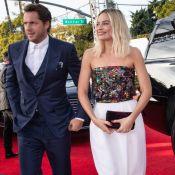 Margot Robbie : Rare photo avec son mari Tom Ackerley sur le tapis rouge
