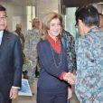 Caroline Kennedy à Tokyo sur une base militaire américaine le 21 novembre 2013.