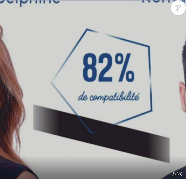 """Delphine et Romain dans """"Mariés au premier regard 2020"""", le 13 janvier, sur M6"""
