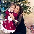 Julia Paredes et sa fille Luna, décembre 2019.