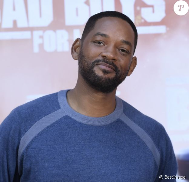 "Will Smith lors du photocall du film ""Bad Boys For Life"" à Madrid, Espagne, le 8 janvier 2020."