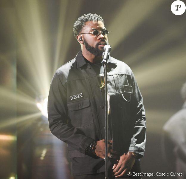 Damso (Album rap : Lithopédion) lors de la cérémonie des 34e Victoires de la Musique à la Seine Musicale, Boulogne Billancourt le 8 février 209. © Coadic Guirec / Bestimage
