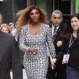 Serena Williams arrive à la soirée annuelle Ad Week à New York, le 24 septembre 201.