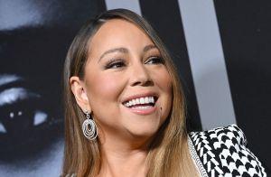 """Mariah Carey : Son décolleté explosif à la première du film """"A Fall From Grace"""""""